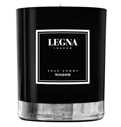 Legna London wisdom scented candle for men